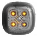 Čiré boční blikače Škoda Fabia 99-07 – LED, černé