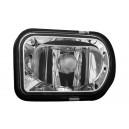 Mlhová světla Mercedes Benz C209 CLK 02+_ chrom