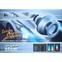 BiXenonové projektorové čočky s Angel Eyes H4 SLIM