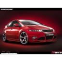 Honda Civic VIII 3/5dv. 2006- _ spoiler předního nárazníku
