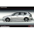 """Mazda 3 – kryty prahů """"S-POWER"""""""