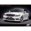 """Mercedes-Benz C-tř. W204 – kryty prahů """"EXCLUSIVE LINE"""""""