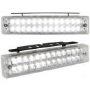Světla pro denní svícení 2x26 LED – chrom