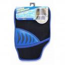 Koberce textilní SHARK 4ks modré