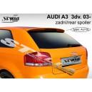 Audi A3 8P 3dv. 03-08 - střešní spoiler, stříška