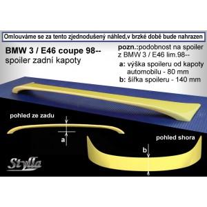 BMW 3er E46 Coupe 99- _ křídlo