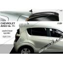 Chevrolet Aveo htb 11- _ střešní spoiler, stříška