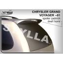 Chrysler Voyager 95-01 - střešní spoiler, stříška