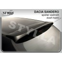 Dacia Sandero 08- _ střešní spoiler, stříška