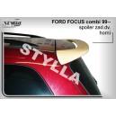 Ford Focus I combi 99-04 - střešní spoiler, stříška