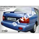 Hyundai Pony sedan 90-95 - křídlo