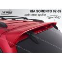 Kia Sorento 02-09 - střešní spoiler, stříška