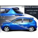 Mazda 3 htb 03-09 - střešní spoiler, stříška