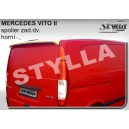 Mercedes-Benz Vito II / Viano W639 03- _ střešní spoiler, stříška