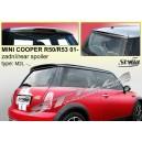 Mini Cooper R50, R53 01- _ střešní spoiler, stříška