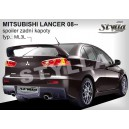 Mitsubishi Lancer sedan 10 08- _ křídlo WRC