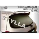 Nissan Almera htb 00- _ střešní spoiler, stříška