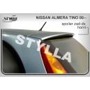 Nissan Almera Tino 00- _ střešní spoiler, stříška
