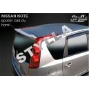Nissan Note 06- _ střešní spoiler, stříška