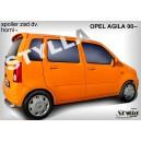 Opel Agila I 00- _ střešní spoiler, stříška