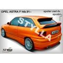 Opel Astra F htb 91- _ křídlo s brzd.světlem-žárovky
