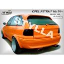Opel Astra F htb 91- _ střešní spoiler, stříška