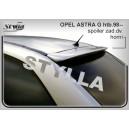 Opel Astra G htb 98- _ střešní spoiler, stříška