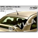 Opel Astra G htb 98- _ prodloužení střechy