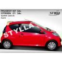 Peugeot 107 3D 05- _ střešní spoiler, stříška