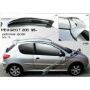 Peugeot 206 98- _ střešní spoiler, stříška