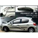 Peugeot 207  06- _ střešní spoiler, stříška