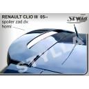 Renault Clio III 05- _ střešní spoiler, stříška