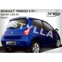 Renault Twingo II 07- _ střešní spoiler, stříška