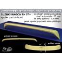Suzuki Wagon R+ 97- _ střešní spoiler, stříška