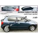 Škoda Fabia II htb 06- _ střešní spoiler, stříška