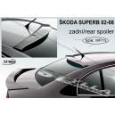 Škoda Superb I 02-08 - spoiler střešní