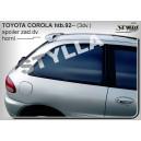 Toyota Corolla htb 92-97 - střešní spoiler, stříška