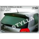Toyota Corolla htb 02- _ střešní spoiler, stříška Sport