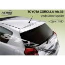 Toyota Corolla htb 02- _ střešní spoiler, stříška Elegant
