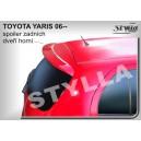 Toyota Yaris II 05- _ střešní spoiler, stříška