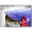Volvo V70 II combi 00-07 - střešní spoiler, stříška
