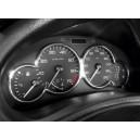 Rámečky budíků Peugeot 206