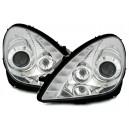 Přední čirá světla Mercedes Benz SLK R171 04-11 – chrom