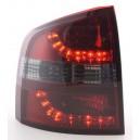 Zadní světla Škoda Octavia Combi 04-09 - LED, červená/kouřová