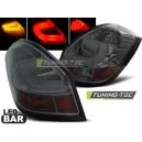 Zadní čirá světla Škoda Fabia II 07-10 - LED, kouřová