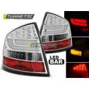 Zadní čirá světla Škoda Octavia II Sedan 04-12 – LED, chrom