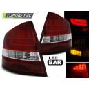 Zadní čirá světla Škoda Octavia II Sedan 04-12 – LED, červená/krystal