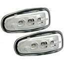 LED boční blikače Mercedes-Benz W210 E-tř. 95-02 chrom