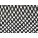 Mřížka tahokov 25x100cm malá oka černá