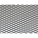 Mřížka tahokov 25x100cm velká oka černá